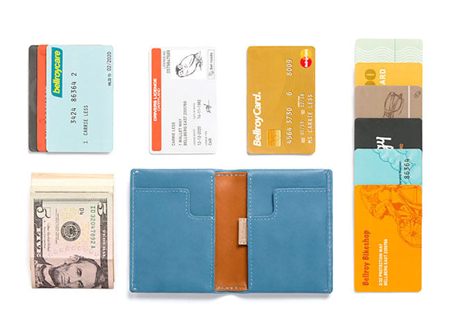Bags - Bellroy Slim Sleeve - Arctic Blue - The Little Link