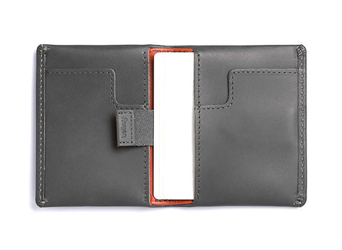 Bags - Bellroy Slim Sleeve Wallet - Charcoal - The Little Link