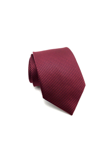 Red Textured Tie - Samuel