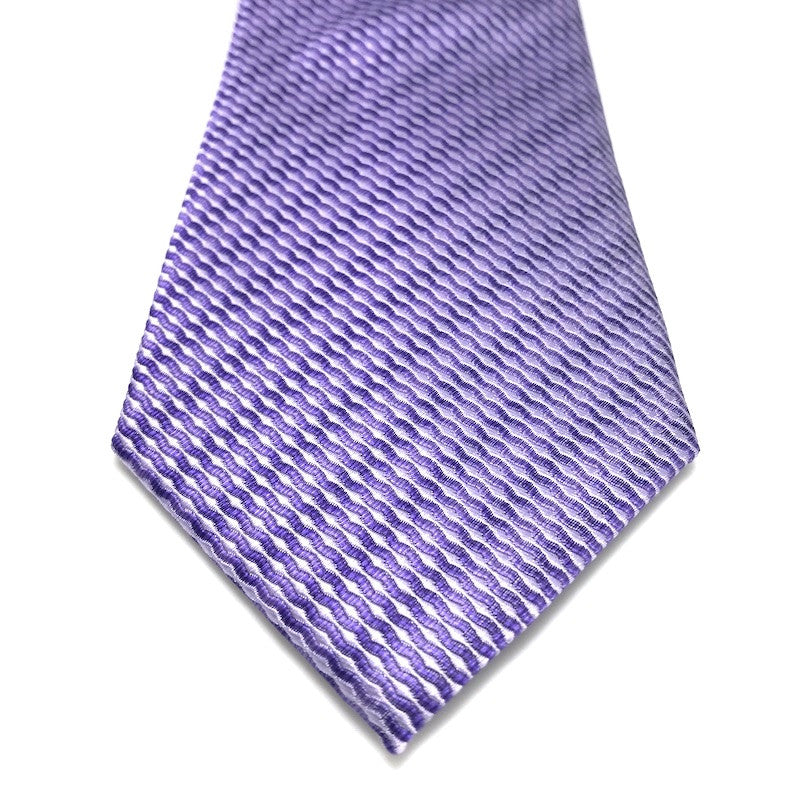 Ties - Tate Purple Silk Tie - The Little Link