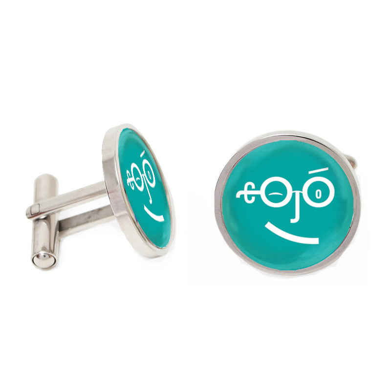 Novelty Cufflinks - Type Face - The Little Link