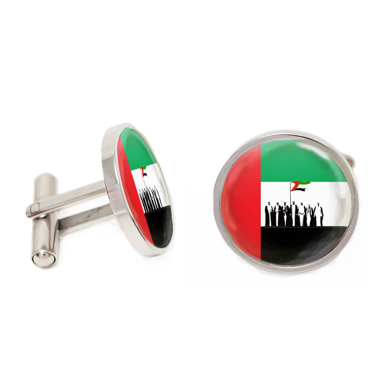 Novelty Cufflinks - Spirit of the Union - The Little Link