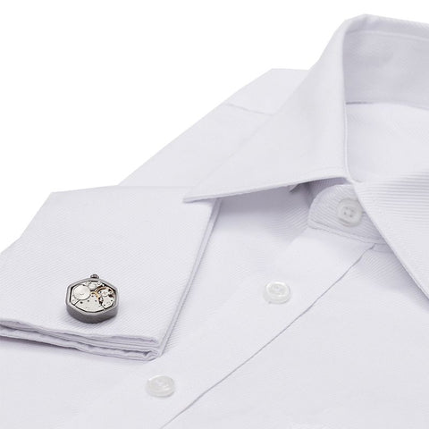 French Cuff Dress Shirt - White