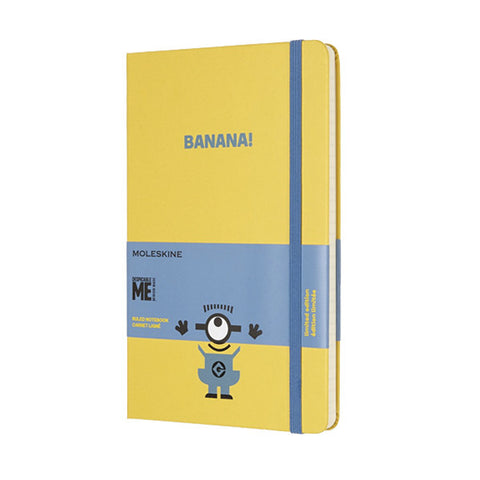 Limited Edition Minions Moleskine Large Notebook - Yellow