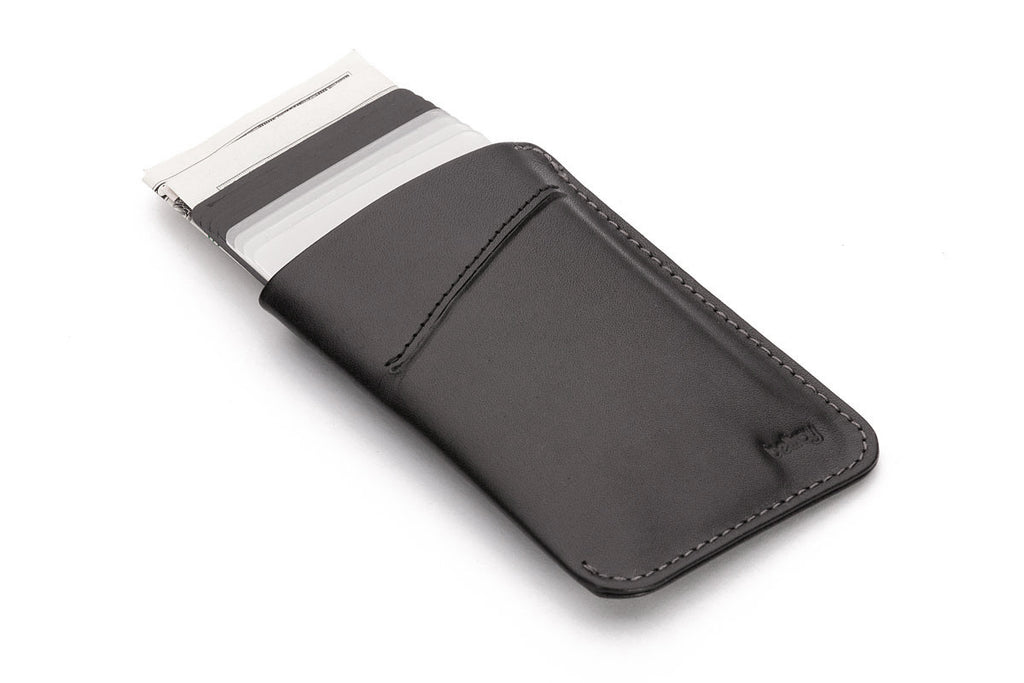 Bags - Bellroy Card Sleeve - Black - The Little Link
