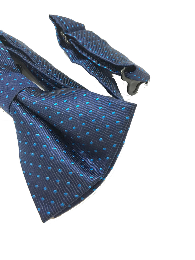 Bowties - Blue Polka Dot Bow Tie - Anderson - The Little Link