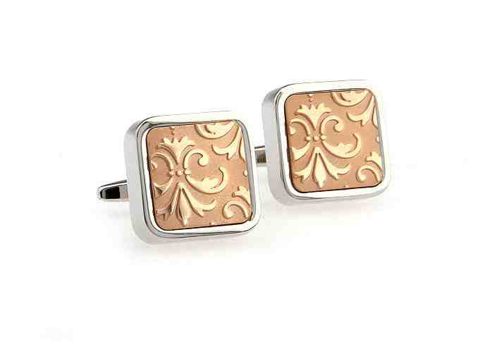 Classic Cufflinks - Rose Gold - The Little Link