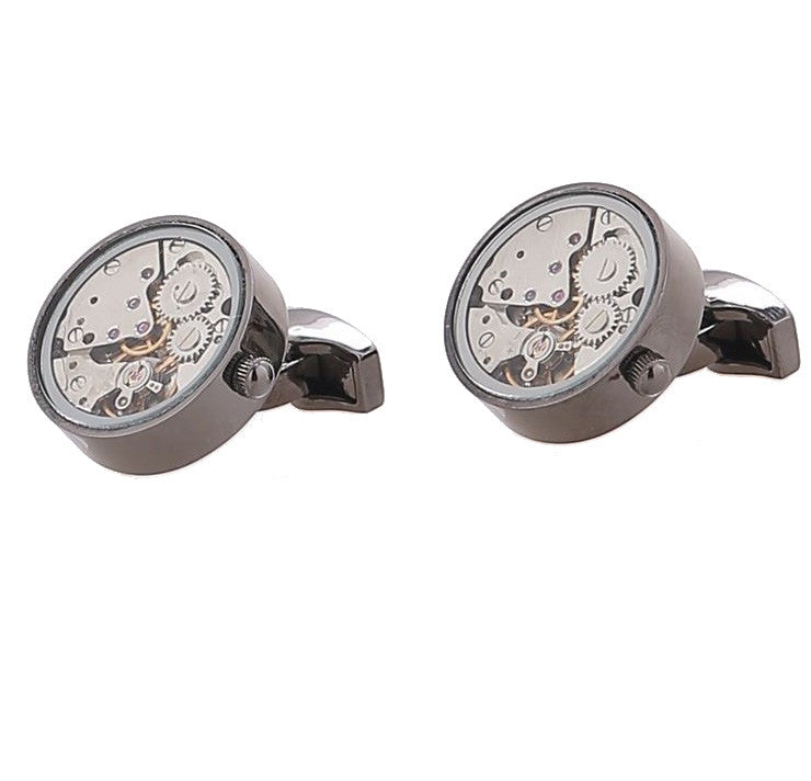 Watch Movement Cufflinks - Watch Movement Atlee - The Little Link