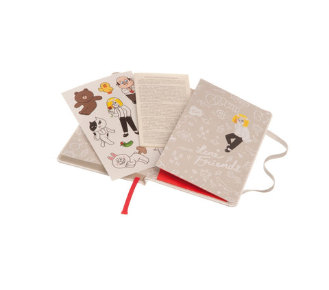 Moleskine Limited Edition Line Friends Collection Notebook + Ballpen