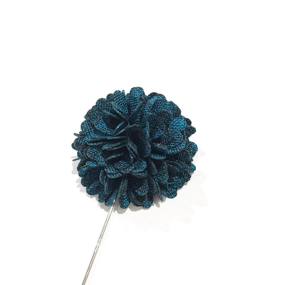 Deep Blue Carnation Lapel Flower