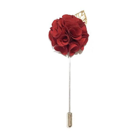 Royal Red Lapel Rose