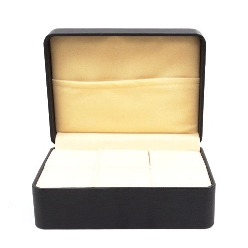 Giftboxes - Cufflink Storage Case  / Gift Box (6 pairs) - The Little Link