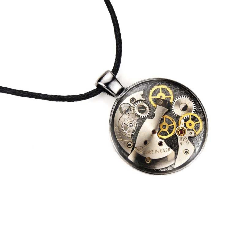 Necklace - Mechanical Watch Gear Necklace - The Little Link