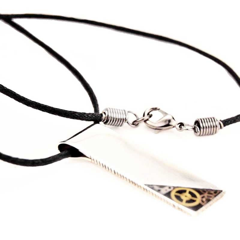 the timeless link little products pendant gear necklace
