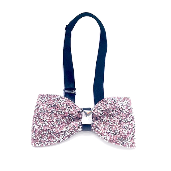 Bowties - Maxine Crystal Bow Tie - The Little Link