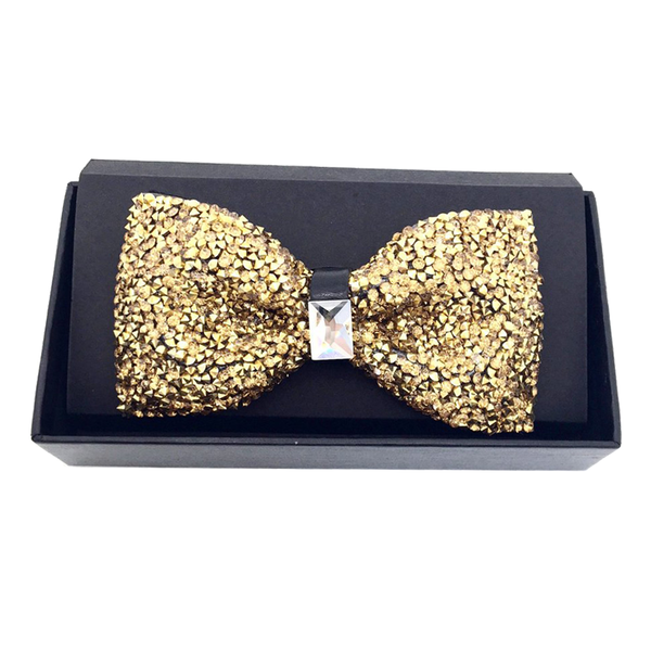 Bowties - Heather Crystal Bow Tie - The Little Link