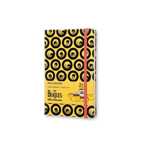 Notebook - Limited Edition Beatles Moleskine Notebook - Yellow Submarine - The Little Link