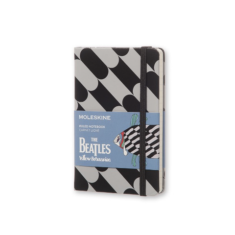 Limited Edition Beatles Moleskine Notebook - Black Fish