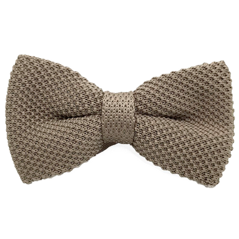 Brown Textured Bow Tie - Josiah