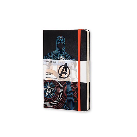 Limited Edition Hard Cover Avengers Notebook - Captain America