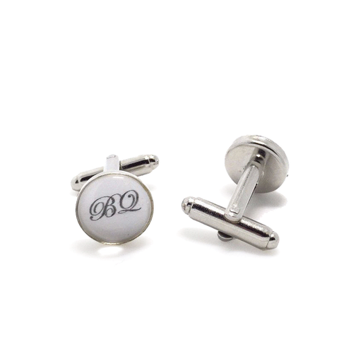 Customized Alphabet Initials Cufflinks