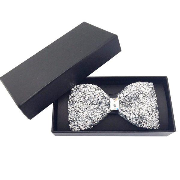 Bowties - Evangeline Crystal Bow Tie - The Little Link