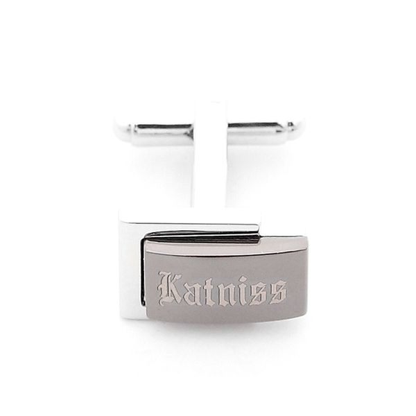 Katniss Engravable Cufflinks R2