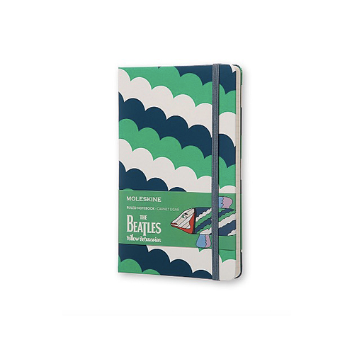 Limited Edition Beatles Moleskine Notebook - White Fish
