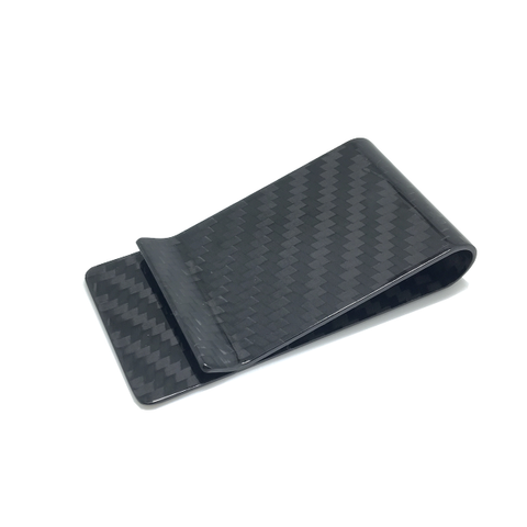 Carbon Fibreglass Money Clip
