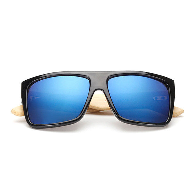 Sunglasses - Okra Bamboo Sunglasses - Sky - The Little Link