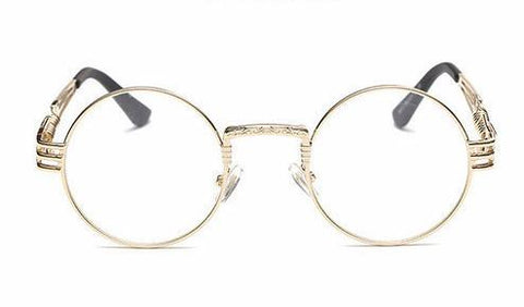 Shinto Gothic Steampunk Glasses - Clear