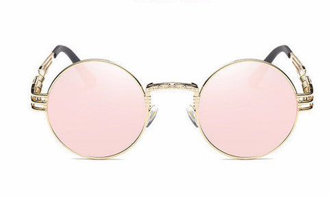 Shinto Gothic Steampunk Sunglasses - Rose