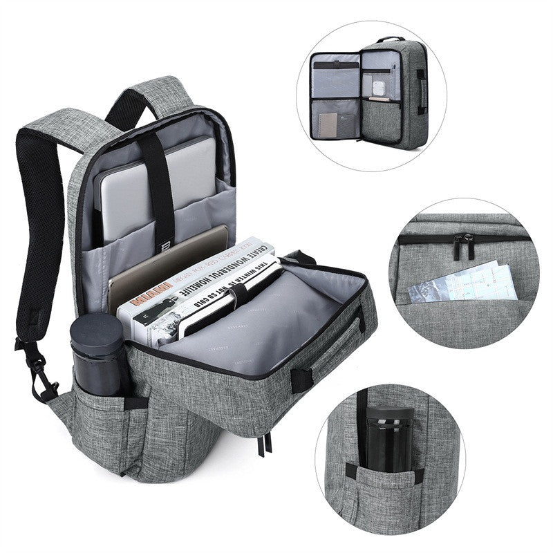 Bagsmart 2-in-1 Convertible Briefcase Backpack