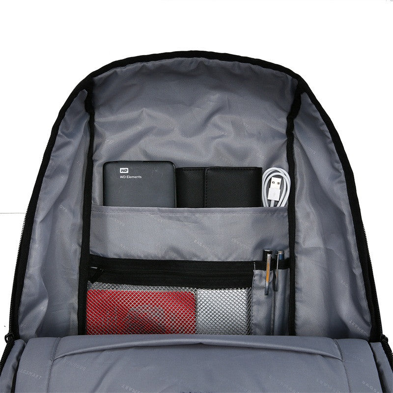 Bagsmart Water Resistant Business Backpack (Grey)