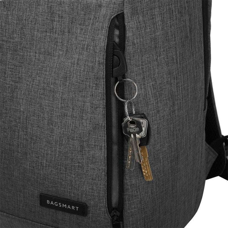 Bagsmart Water Resistant Business Backpack (Black)