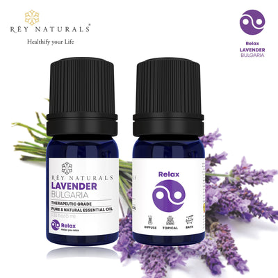 LAVENDER PURE ESSENTIAL OIL 5ML