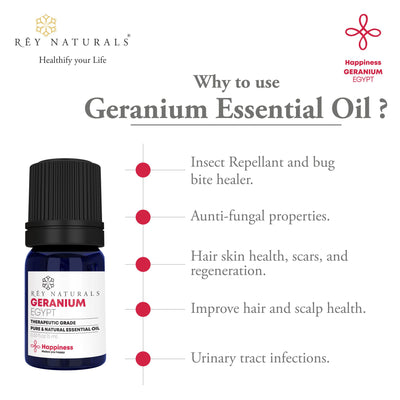 GERANIUM ESSENTIAL OIL 5ML