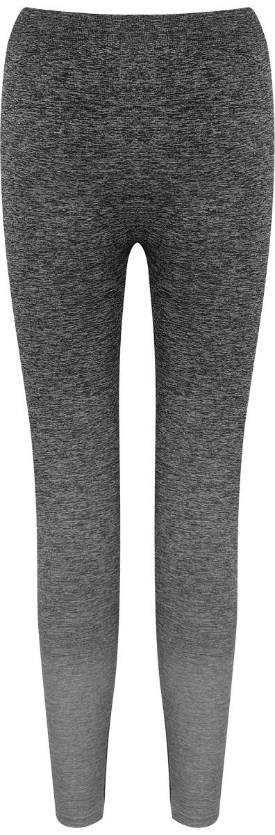 Leggins degradados mujer, color gris