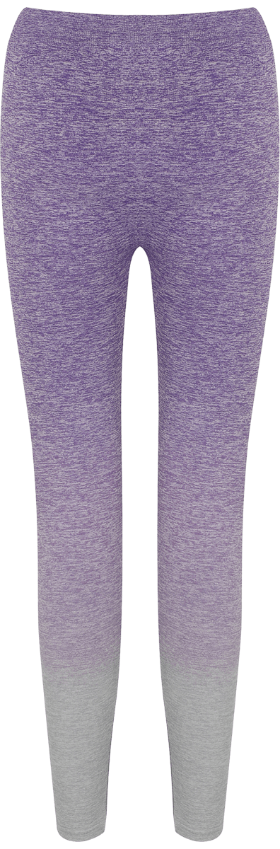 Leggins degradados mujer, color violeta