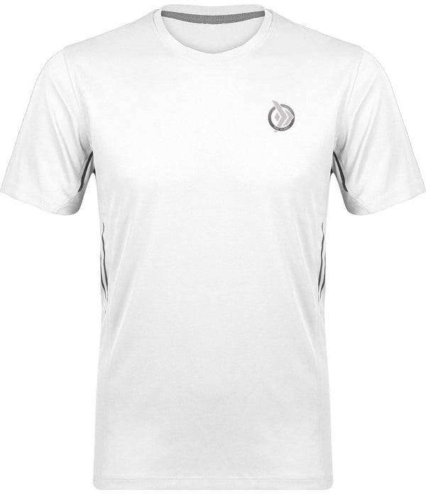 camiseta técnica hombre, color blanco, Train Yourself