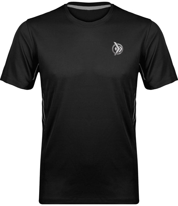 camiseta técnica hombre Train Yourself, color negro