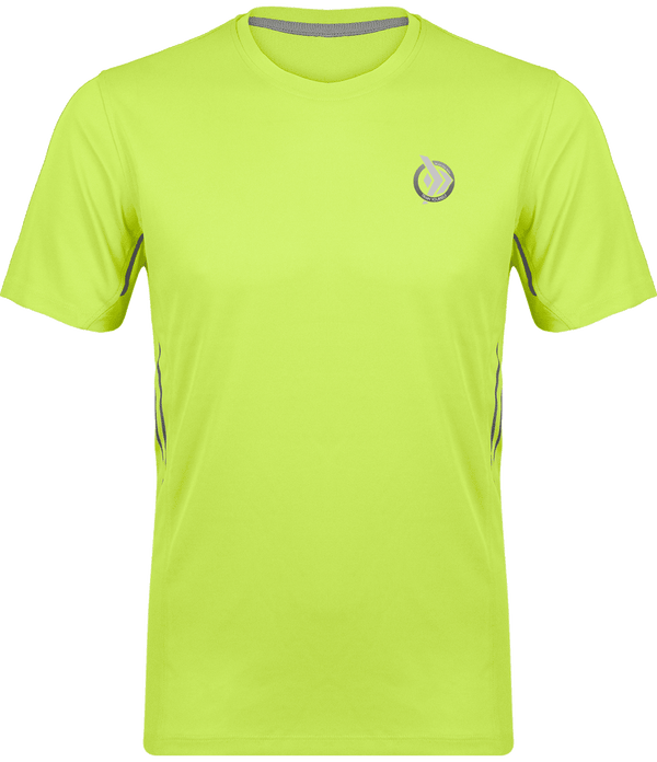 camiseta técnica hombre Train Yourself, color verde pistacho