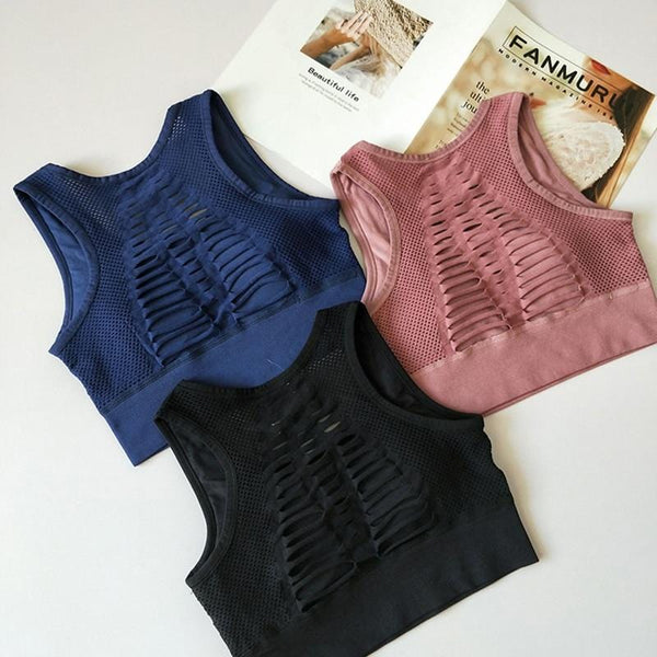 Top deportivo Back Crop