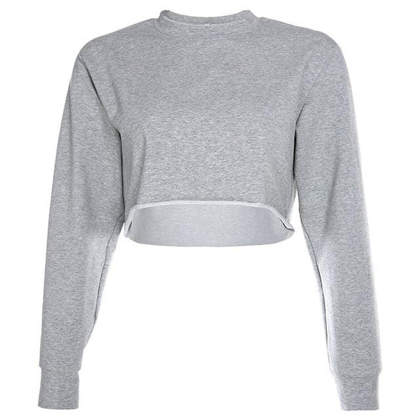 Sudadera Crop Top