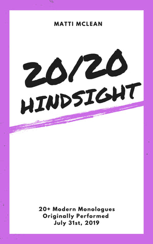 20/20 Hindsight Book