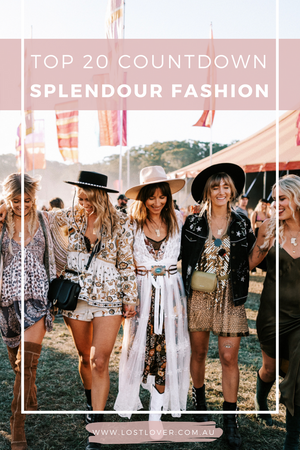 Our Top 20 Favourite Festival Outfits from Splendour 2018