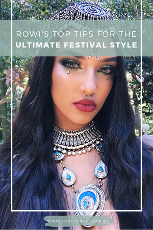 Ultimate Festival Style with Rowi