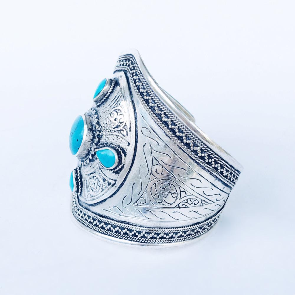 Oracle cuff - Turquoise - Lost Lover - 2