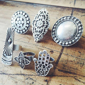 "Anatolian Ring - ""Sun"" - Ring - Bohemian Jewellery and Homewares - Lost Lover"