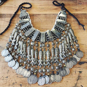 Afghan Kuchi Tribal Fish Choker - Necklace - Lost Lover